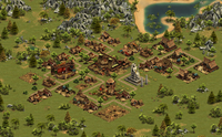2 Forge Of Empires - Screenshot: Wioska